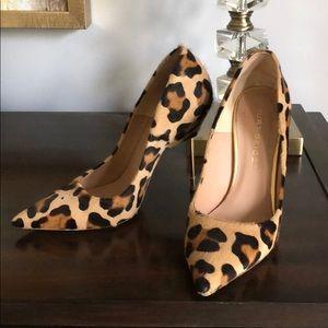 Kurt Geiger leopard pumps